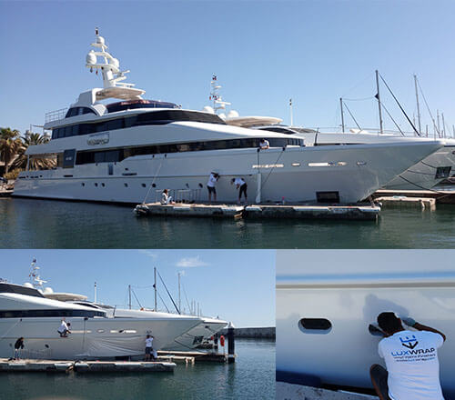Superyacht Vinyl Wrap